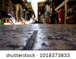 street of the old city of... | Shutterstock . vector #1018373833