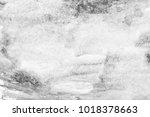 abstract gray watercolor splash ... | Shutterstock . vector #1018378663