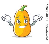 grinning butternut squash...   Shutterstock .eps vector #1018415527