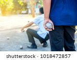 people at sport playing game... | Shutterstock . vector #1018472857