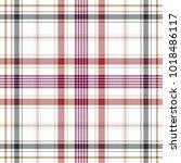 tartan traditional checkered... | Shutterstock .eps vector #1018486117
