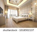 3d rendering modern luxury... | Shutterstock . vector #1018502137