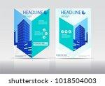 brochure design. corporate... | Shutterstock .eps vector #1018504003