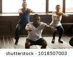 young african american man...   Shutterstock . vector #1018507003