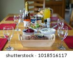 editorial use only  dining room ... | Shutterstock . vector #1018516117