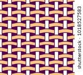 basket weave seamless pattern.... | Shutterstock .eps vector #1018527583