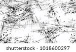 halftone grainy texture with... | Shutterstock .eps vector #1018600297