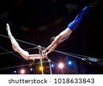 Small photo of acrobat in the circus