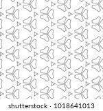 seamless vector pattern in... | Shutterstock .eps vector #1018641013