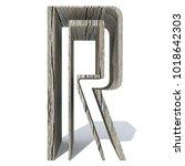 conceptual wood or wooden brown ...   Shutterstock . vector #1018642303