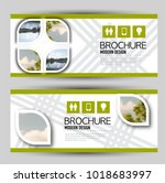 set of banners for web... | Shutterstock .eps vector #1018683997
