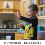 editorial use only  cute child...   Shutterstock . vector #1018686463