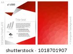 light red vector  layout for...