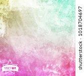 old wall texture. vector. | Shutterstock .eps vector #1018704697