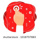 vector creative color... | Shutterstock .eps vector #1018707883