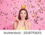 wow omg  emotion expressing... | Shutterstock . vector #1018793653