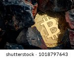 bitcoin mining and... | Shutterstock . vector #1018797643