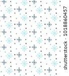 trendy winter hand draw... | Shutterstock .eps vector #1018860457
