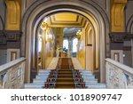st. petersburg  russia   august ... | Shutterstock . vector #1018909747