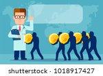 vector concept illustration of...   Shutterstock .eps vector #1018917427