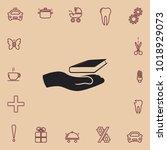 closed book  vector icon | Shutterstock .eps vector #1018929073