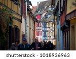 colmar  france   january 05 ... | Shutterstock . vector #1018936963