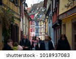 colmar  france   january 05 ... | Shutterstock . vector #1018937083