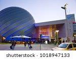 bucharest  romania   oct 14 ... | Shutterstock . vector #1018947133