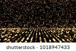 beautiful black background with ... | Shutterstock . vector #1018947433
