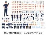 Policeman Creation Set Or Diy...