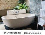 interior of the beautiful... | Shutterstock . vector #1019021113