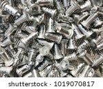 zinc alloy key parts presenting ... | Shutterstock . vector #1019070817