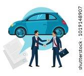 vector illustration of car...   Shutterstock .eps vector #1019148907