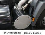 truck exhaust filter.   Shutterstock . vector #1019211013