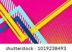 lines abstract background  pink ... | Shutterstock .eps vector #1019238493