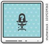 vacancy flat vector icon. | Shutterstock .eps vector #1019239363