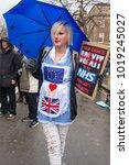 london  england. 3rd february... | Shutterstock . vector #1019245027