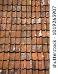 Small photo of Pantile roof pattern