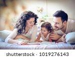 read stories your children.  | Shutterstock . vector #1019276143