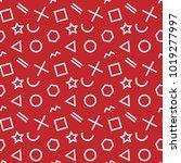 stylish seamless pattern of... | Shutterstock .eps vector #1019277997