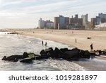 new york  usa   sep 23  2017 ... | Shutterstock . vector #1019281897