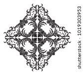 classical baroque vector of... | Shutterstock .eps vector #1019303953