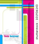 abstract colorful background | Shutterstock .eps vector #101936143
