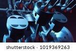 3d illustration of an internal... | Shutterstock . vector #1019369263
