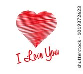 heart made from lines with i...   Shutterstock .eps vector #1019372623