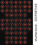 web circle alphabet