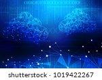 2d rendering cloud computing ...   Shutterstock . vector #1019422267