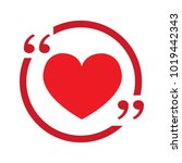 heart vector icon | Shutterstock .eps vector #1019442343