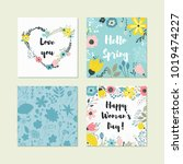 vector collection for design... | Shutterstock .eps vector #1019474227