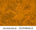dramatic orange grunge seamless ... | Shutterstock . vector #1019484613